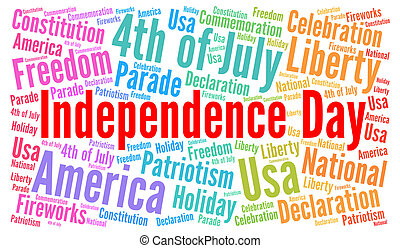 Independence day 4th of July in USA