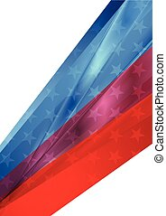 Independence Day abstract USA colors background