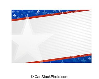 Independence day background in American colors . EPS 10