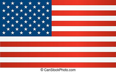 United States flag - Independence day background. United...