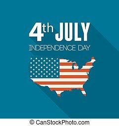 United States flag - Independence day background. United ...
