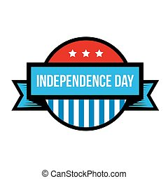 Independence Day - Fourth of July vintage stamp