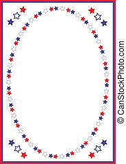 Independence day ,frame