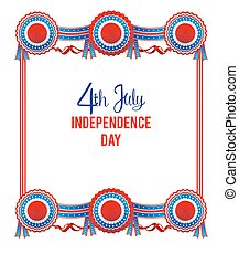 Independence day frame