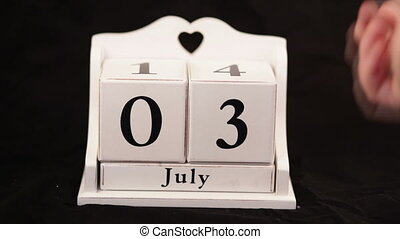 Independence Day, July 4 calendar - Independence Day, July 4...