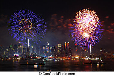 Independence day New York City