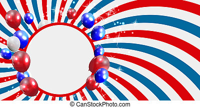 Independence Day Poster Vector Illustration. EPS 10
