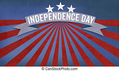 Independence Day, US American flag concept background