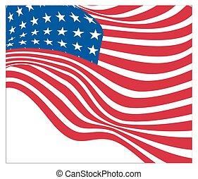 Independence Day USA Flag
