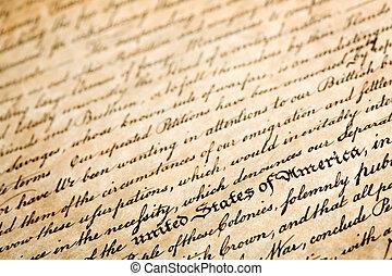 independence - declaration of independe, horizontal...