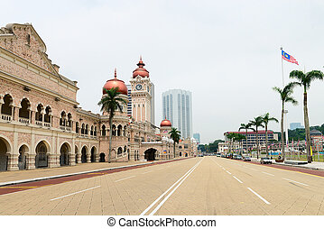 Independence Merdeka Square in Kuala Lumpur - Independence...