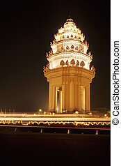 Independence Monument- Phnom Penh, Cambodia