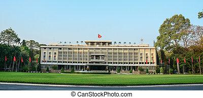 Independence Palace in Saigon