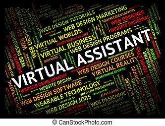 independiente, ayudante, virtual, contratista, papá, exposiciones