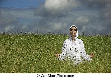 indgåelse, yoga
