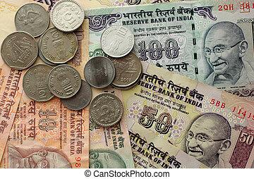 indiër, geld