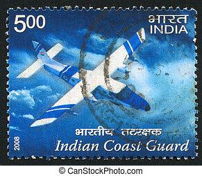 plane of Indian Coast Guard