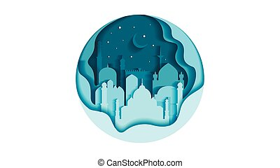 India circle icon flat style architecture buildings monuments town city country travel printed materials