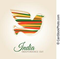 india, dag, onafhankelijkheid