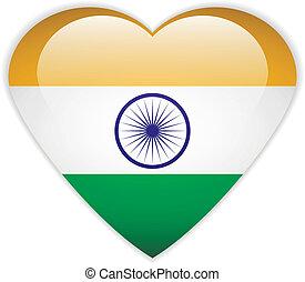 India flag button.