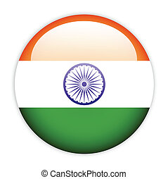 India flag button