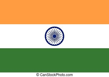 India Flag. Vector Format