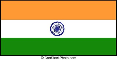 India flag vector illustration isolated on background