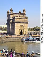 India Gateway from Taj Ocean View