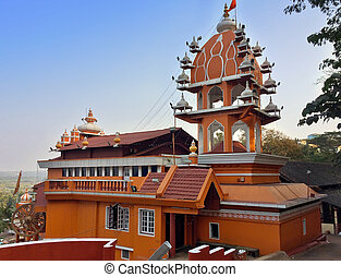 India. Goa. Hanuman temple.