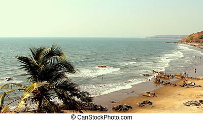 India Goa Vagator beach February 20