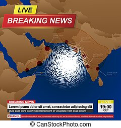 India hurricane news background - Breaking news with asia ...