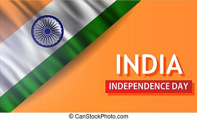India independence day country background. Republick flag patriotism vector indian. Freedom tricolor happy concept banner pride. Asia democracy government. Blue wheel traditional design illustration.