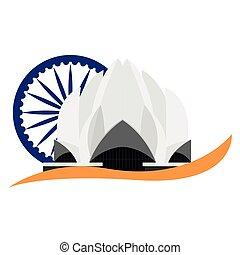 india, lugar famoso