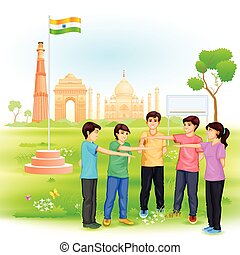india, missie, schoonmaken