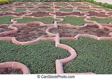 india., sitio, simétrico, agra., o, dewan-e-khaas., herencia...
