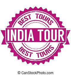 India tour stamp