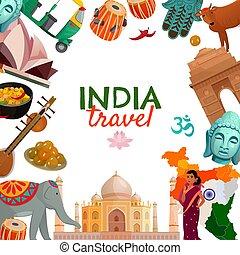 India Travel Frame