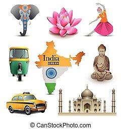 India travel set