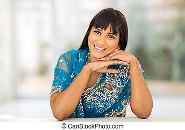 indiai, woman ellankad