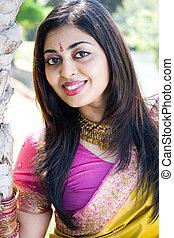 indian, 女性