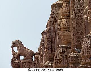 indian, 寺院