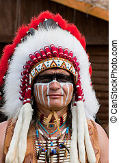indian americano, norte