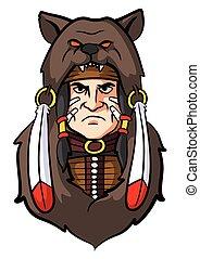Indian Apache Mascot