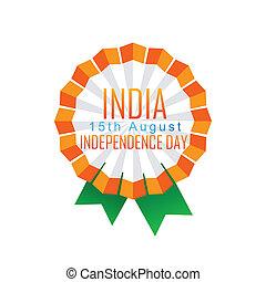 indian badge design