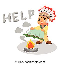 Image result for indian smoke signals