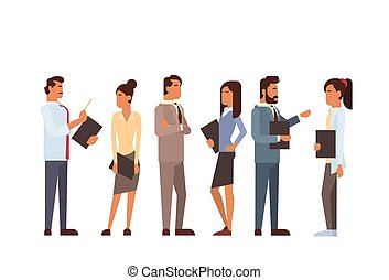 Indian Business People Group Human Resources Teamwork Concept