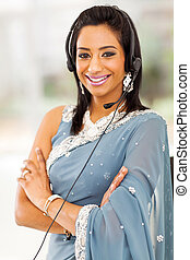 indian business support center operator