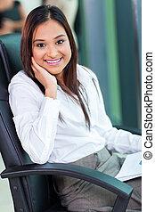 indian business woman portrait