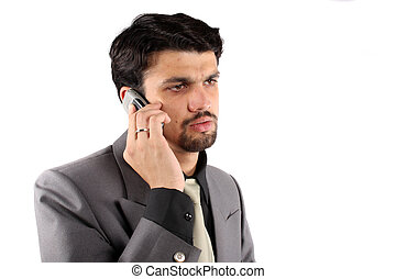 Indian Businessman on Phone