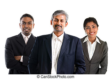 Indian businessteam. - Indian business team. Asian Indian...
